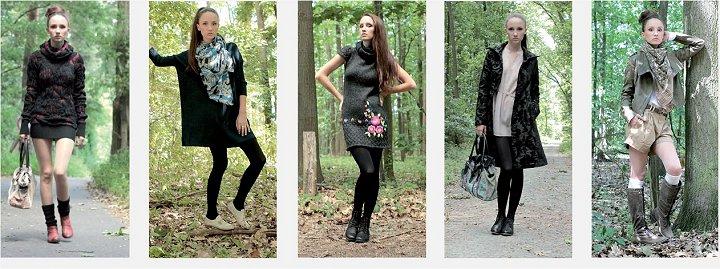 Damen Herbst Textil Mode 2011