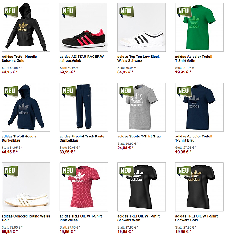 adidas Originals Sale Männer