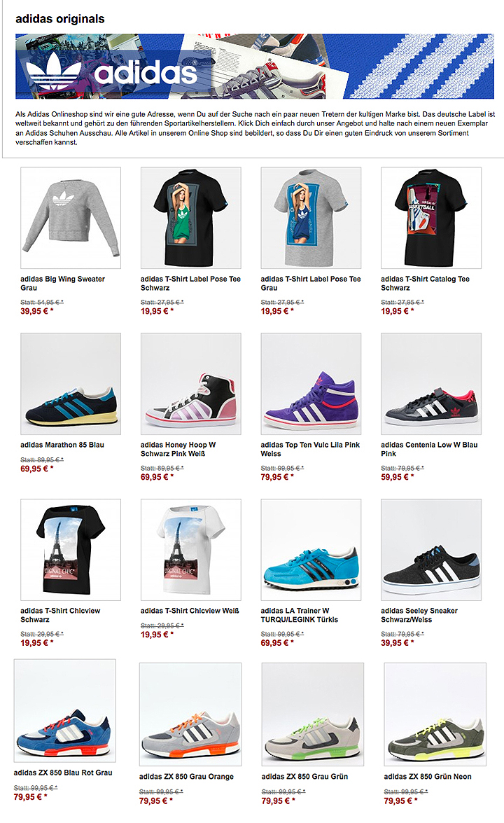 adidas Originals Winter Sale