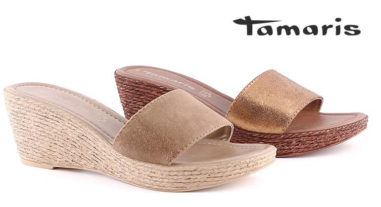 Tamaris Pantoletten mit Keilabsatz uts blog