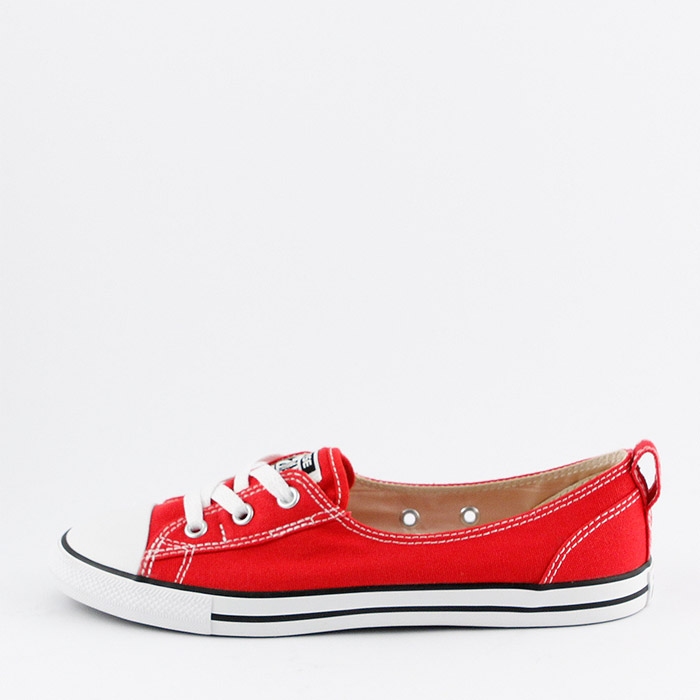Converse Ballet Lace Slip Chuck Taylor red