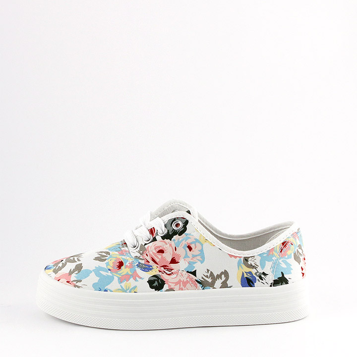 Canvas Sneaker News 2015 Flowers