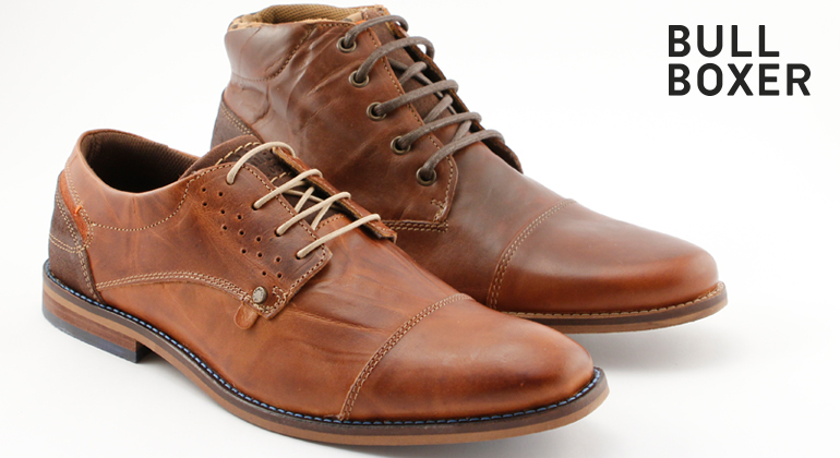 Bullboxer Trend Shoes Cognac Braun