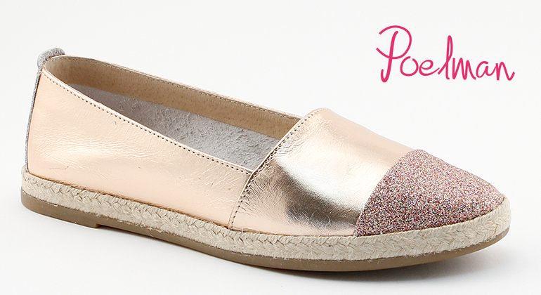 Hot Ice Espadrilles Rose Leder