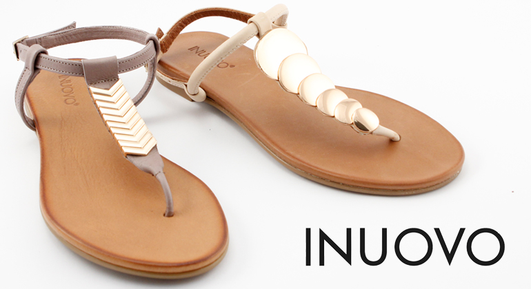 Inuovo Sommer Sandalen Beige