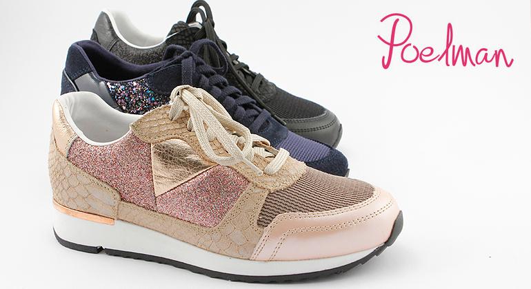 Poelman Trend Sneaker Glitter