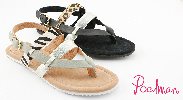 Sommer Sandalen Hot Ice by Poelman