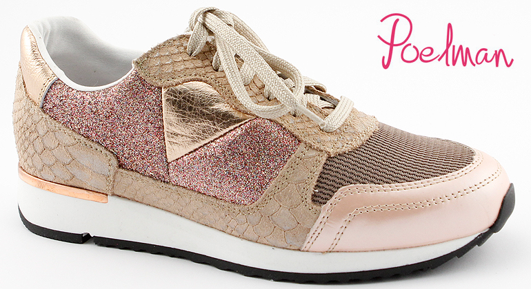Trend Sneaker Poelman Beige Rose